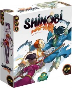 Shinobi WAT-AAH omslag